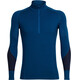 """Icebreaker M's Winter Zone LS Half Zip Largo/Midnight Navy/Cadet"""
